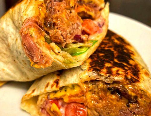 Brisket Burrito